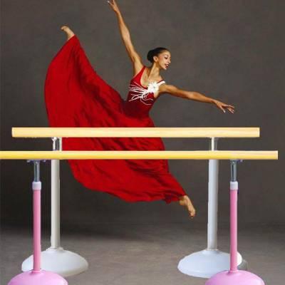 鲁杯舞蹈把杆挂壁双层把杆保证结实富有弹性