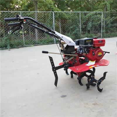 多配置手扶式松土旋耕机汽油7.5马力汽油微耕除草机