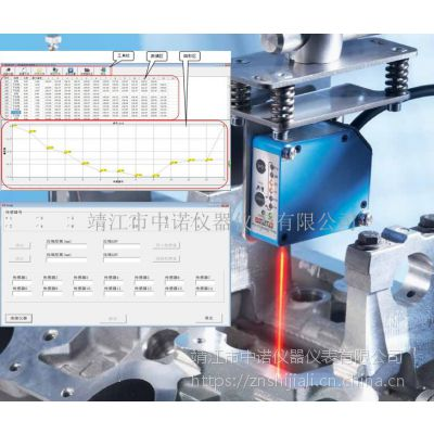 ACEPOM522英国ACEPOM钢板直线度在线测量系统德国高精度传感器
