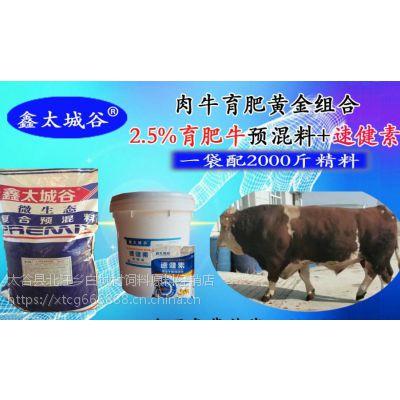 2.5%育肥牛微生态型专用预混料