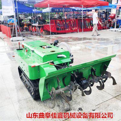 佳鑫JX--012多功能大马力自走式微耕机 果园冬季施肥机 大棚柴油松土机价格