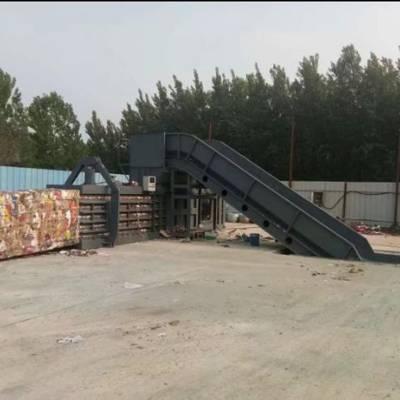 宁津废纸打包机厂家塑料瓶 卧式全自动废纸打包机