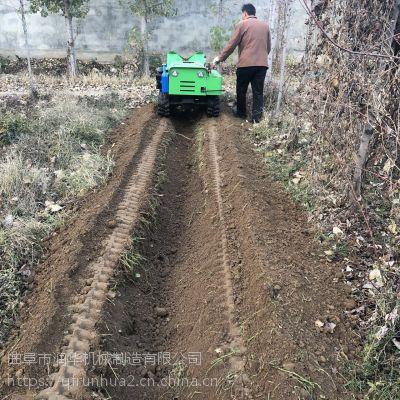 方便好操作履带式开沟机 林业旋耕犁地机 蔬菜大棚翻土机