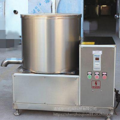 诸城神州机械生产离心脱水机 安全可靠 使用简单方便