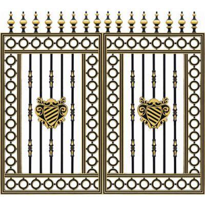 【荣顺护栏】设计精美(图)-铝合金庭院门-温州庭院门
