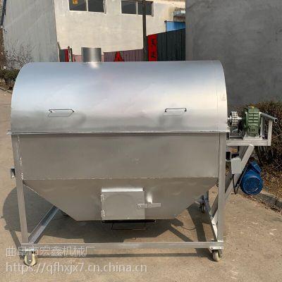 大铁锅炒瓜子机 燃气型商用多功能炒货机 滚筒不锈钢瓜子炒货机