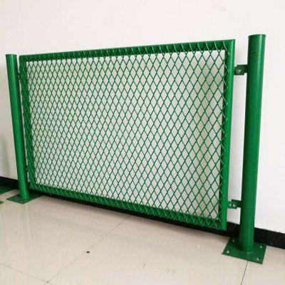 现货定做桥梁防护网 桥梁包塑金属防抛网 西安桥梁菱形孔防护网厂家
