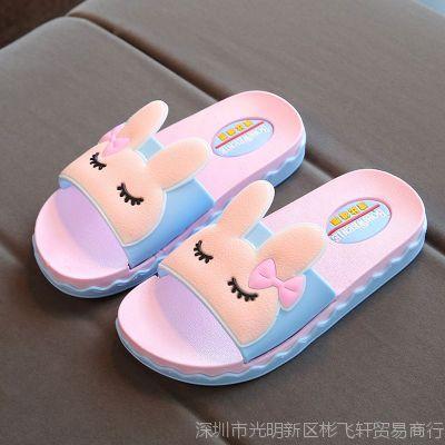 儿童拖鞋夏男宝防滑软底5-6-7岁可爱小公主泡沫轻底女童家用凉拖