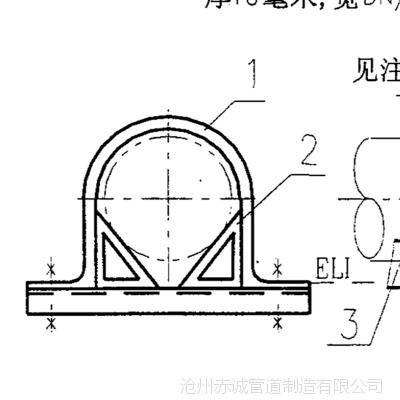 嘉兴M4管托生产厂家沧州赤诚管道坚持以人为本