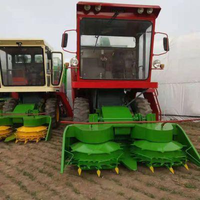 河北大型玉米秸秆收割机 圆盘式青储机