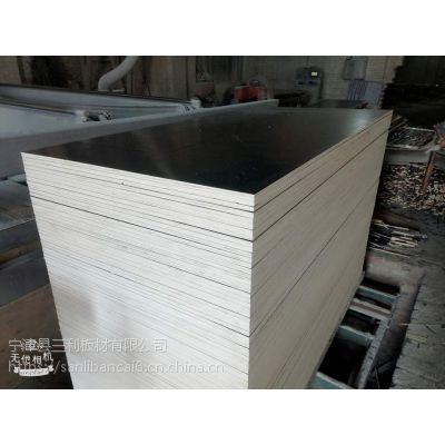 三利板材销售杨木多层板密度均匀整芯15厘包装杨木多层板