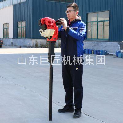 各省勘察院检测机构取样设备巨匠QTZ-2取土样地质勘探取样专用汽油动力适应性强