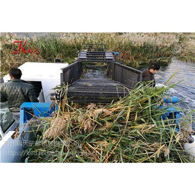 四川打捞水草船 水葫芦清除粉碎设备