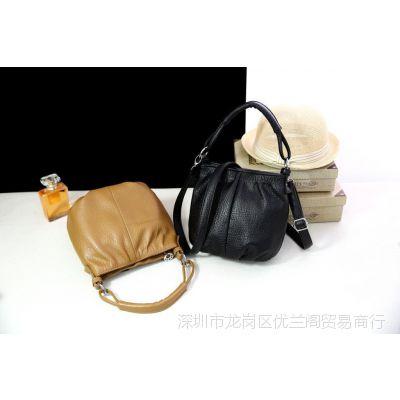 2017新款简约 女包斜挎小包包软皮中年妇女士妈妈包单肩斜挂包