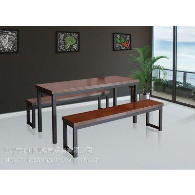 四平食堂用餐桌选择的哈中信工厂