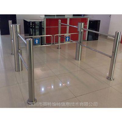 深圳商场出入口机 超市出入口门禁机 不锈钢道闸