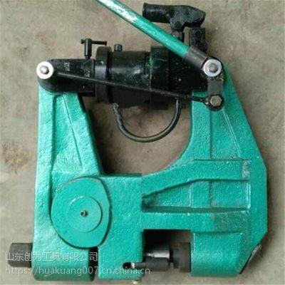 钢轨挤孔器 液压钢轨挤孔机 打孔器弯轨机钢轨用挤孔机厂家