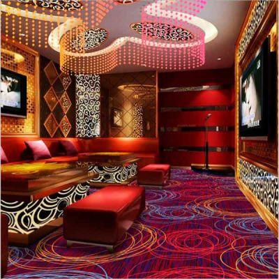郑州拼接地毯卧室满铺家用方块 会议室绿色薄地毯