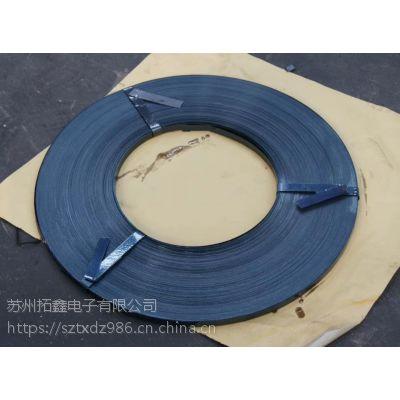 1907镀锌钢带 1907烤蓝打包带 苏州铁皮打包带厂家 量大从优
