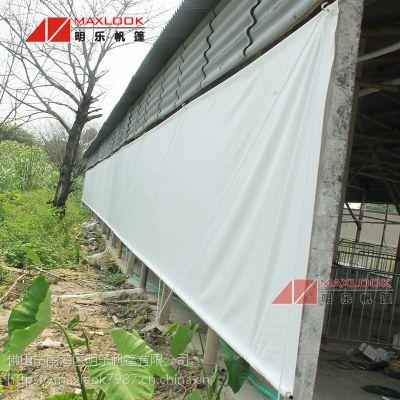 滨州篷布-养殖卷帘防水布-冬天防寒保暖布