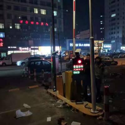 深圳小区道闸车牌识别系统 车牌自动识别道闸 小区门禁系统