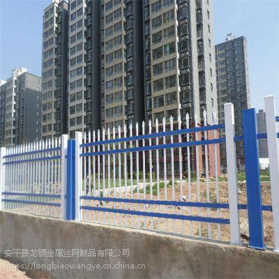 工业园围墙栏杆 产业基地防护栏杆 铁艺护栏厂家