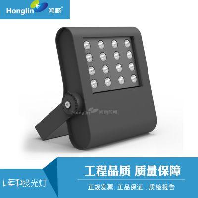 2019年新款LED投光灯 工程款高档投射灯100W