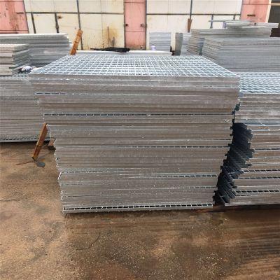 钢格板配件 复合型钢格板 踏步板生产厂家