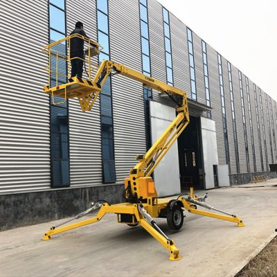 现货直销LZZB16米折臂式升降机 柴油机升降高空作业车 液压升降平台
