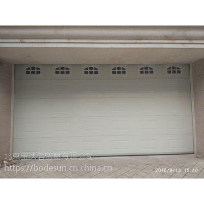 北京安装高品质别墅电动车库门,定制家用遥控库房门
