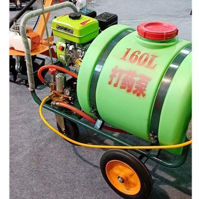 东硕机械高压打药机手推式动力园林喷雾器