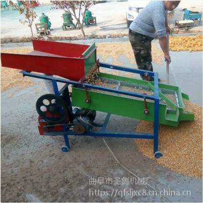 黑龙江家用黄豆筛选机 震动型粮食筛选机图片 圣鲁厂家