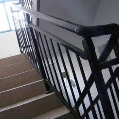 茂名小区楼梯扶手护栏定做 阳台栏杆别墅镀锌栅栏