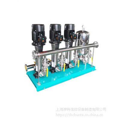 高层小区恒压成套变频供水设备/小区不锈钢成套气压变频供水设备
