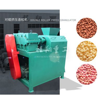 程翔专供DZJ-Ⅰ2.0对辊挤压造粒机环保、无污染 复合肥造粒机 肥料颗粒设备