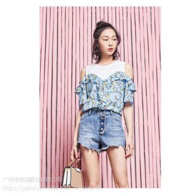杭州品牌折扣女装miss li蜜丝丽春装品牌折扣店优质货源