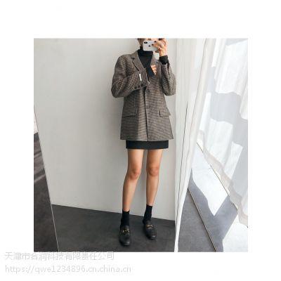 卡嘉茜品牌折扣店加盟排名折扣 深圳大码外贸女装尾货批发市场在哪红色职业女装