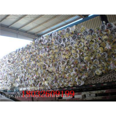 浙江衢州冷藏用玻璃棉卷毡10公分贴铝箔一平米多少钱