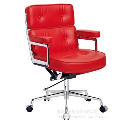 创意皮制办公椅_皮制办公室椅子_办公家具职员椅