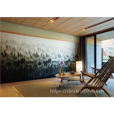 供应日本进口丽彩壁纸工艺画墙纸 D 8008O