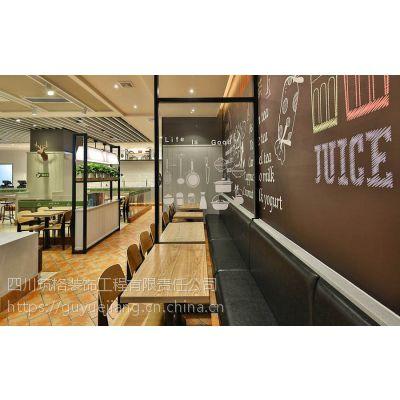 成都餐饮空间设计装修技巧运用合理会使餐厅格外出众