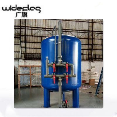 厂家直销 Q235碳钢过滤器,多介质河水过滤净水设备 清又清