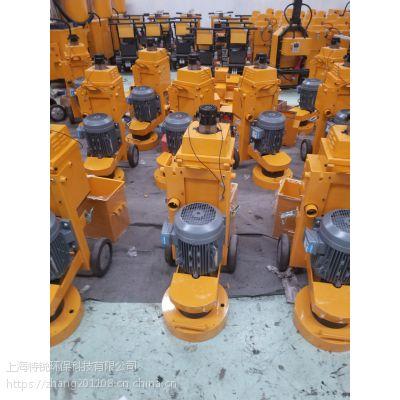 舟山300型环氧地坪打磨机-K30型环氧树脂地坪水泥地面研磨机-手推式钢板除锈打磨机