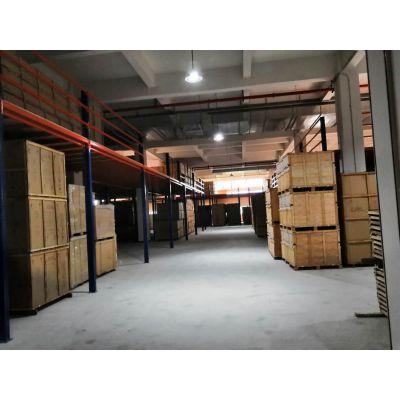 珠海高位仓储货架 二层库房高架 重型五金仓储铁架