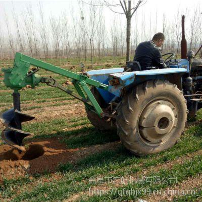 植树造林挖坑挖洞机 硬土质打洞机 启航手提式挖坑机型号