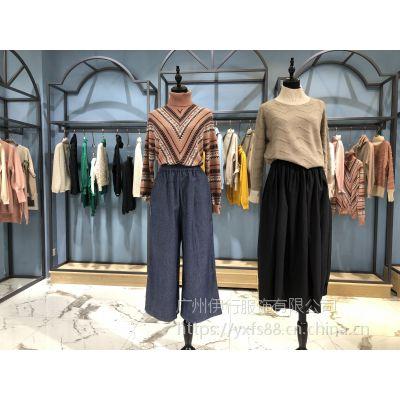 卡拉贝斯品牌折扣女装19年春装比例淘宝直播货源批发价格