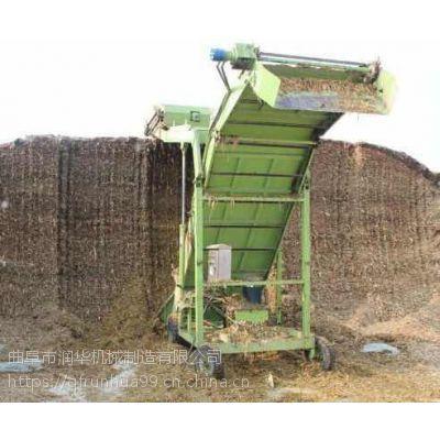 高空自动扒草取料机 骡马养殖取草机 高效节能取料机