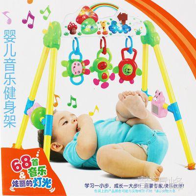 婴儿音乐健身架3个月到1岁有68首音乐婴乐星201-1多功能健身器