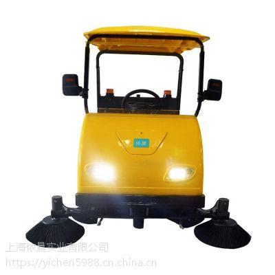 工商业用多功能清扫车双刷驾驶室全自动扫地机户外马路水泥地面用