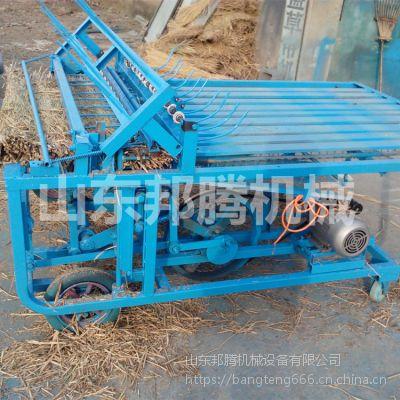 2米稻草专用草帘机 自产自销秸秆草席机 大棚草毡机
